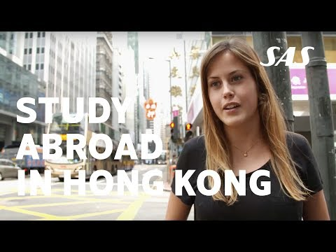 Study abroad in Hong Kong like Nicole from Sweden and experience the amazing city | SAS