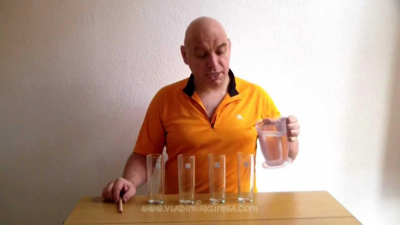 Experimentos para ni os m sica con vasos de agua youtube - Vaso con agua ...