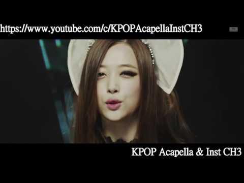 [Acapella] f(x) 에프엑스 - Red Light [All Vocal]