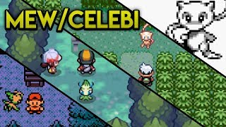 Evolution of Mythical Pokemon - Mew and Celebi (1998 - 2010)
