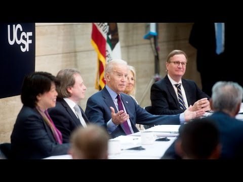 VP Joe Biden Visits UCSF to Advance National Cancer Moonshot Initiative