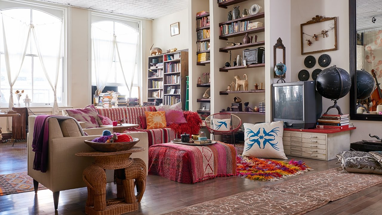 Interior Design Tour An Eclectic SoHo Loft Filled With Personality