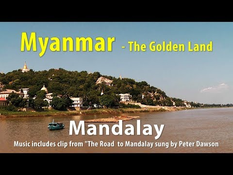 Sightseeing in Mandalay, Myanmar