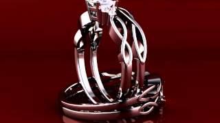 Withfeelings Infinity Wedding Ring Set