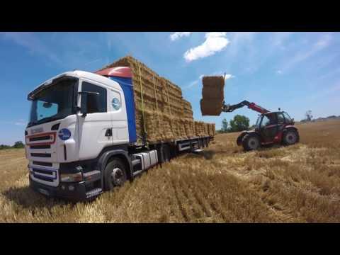 chargement de paille 2017 sur camion [GoPro]