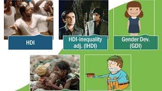vuclip BES166/P4: UNDP's Human Development Report: HDI, IHDI, GDI, GII, MPI; SDG-2030