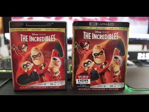 The Incredibles 4K Blu-Ray Review