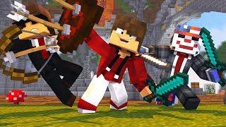 O TIME REUNIDO! BEDWARS NO SERVIDOR SKYMINIGAMES (Minecraft)    LUGIN  