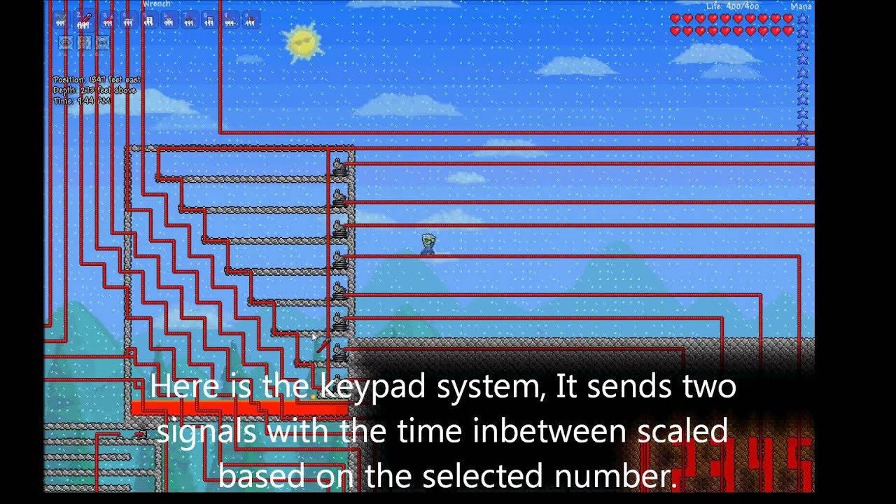 terraria 1 1 combination lock 4 bins 8 values youtube rh youtube com Terraria Pressure Plates Terraria Wire Creations