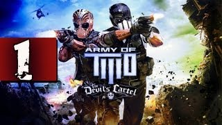 Army of Two: Devils Cartel - Gameplay  Walkthrought/español - SOLO  - INICIO - Parte 1 (xbox/ps3/pc)