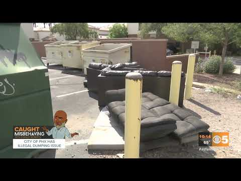 VIDEO: City of Phoenix has illegal dumping issue