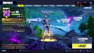 FORTNITE- 24/7 LIVE FLOATING ISLAND CUBE EVENT  - CUBE IS ON THE 7TH AND FINAL RUNE  !!