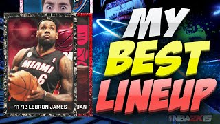 NBA 2K15 MY BEST MY TEAM LINEUP OF THE YEAR