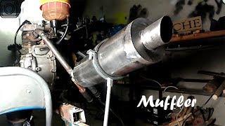 Homemade Exhaust MUFFLER For 10$