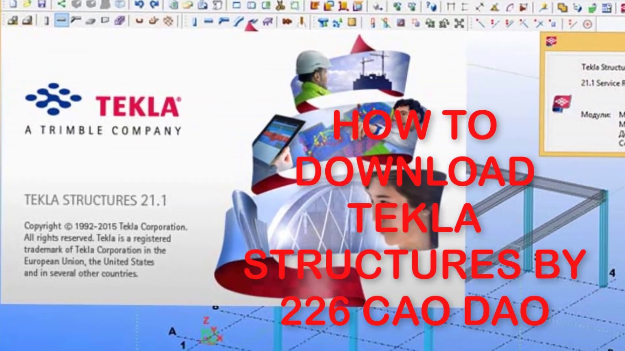 How to download Tekla structures 21 1
