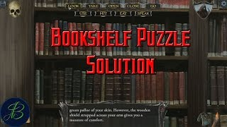 S3 How to Solve Library Book Puzzle (Master Difficulty) Let's Play Shadowgate