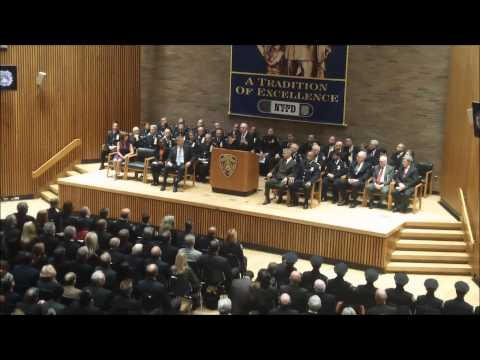 Bill Bratton Swearing In Ceremony & Speech