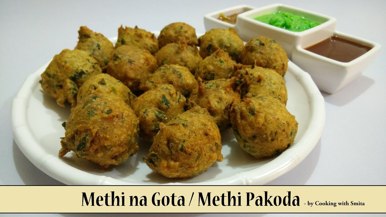 How to make methi bhaji gota