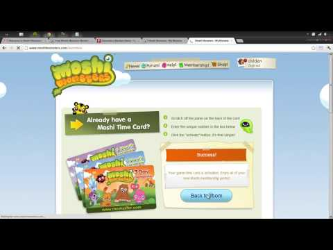 (Legit) Free Moshi Monsters Codes | Get Your Free Moshi Monster Membership Code [2016]