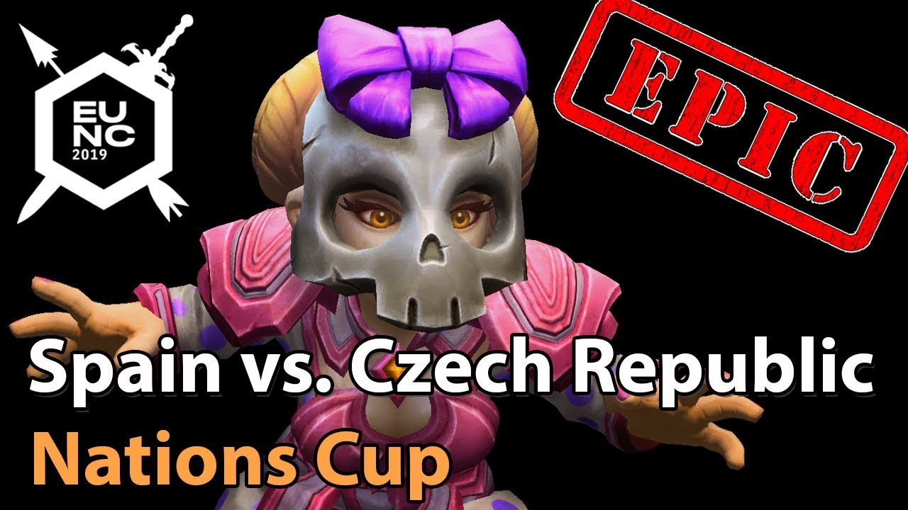 ► EPIC Spain vs. Czech Republic - Nations Cup - Heroes of the Storm Esports