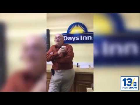 Disturbing Video: Norfolk Day's Inn hotel clerk verbally attacks guest