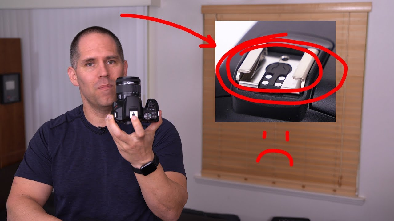 Canon has removed the universal pin on the new SL3 (200D Mk II