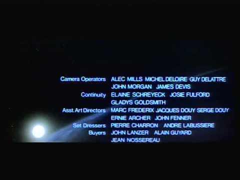 007 Moonraker end credit