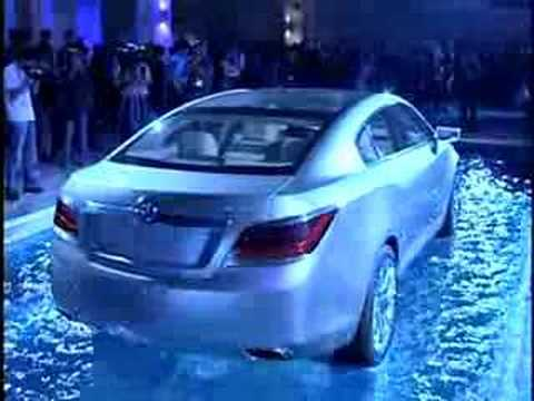 Buick Invicta Concept 2008 Beijing Auto Show Youtube