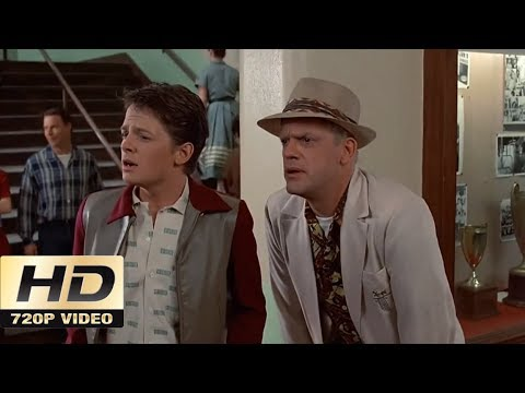 Back To The Future, Part I: Hill Valley High School (1985) [HD]