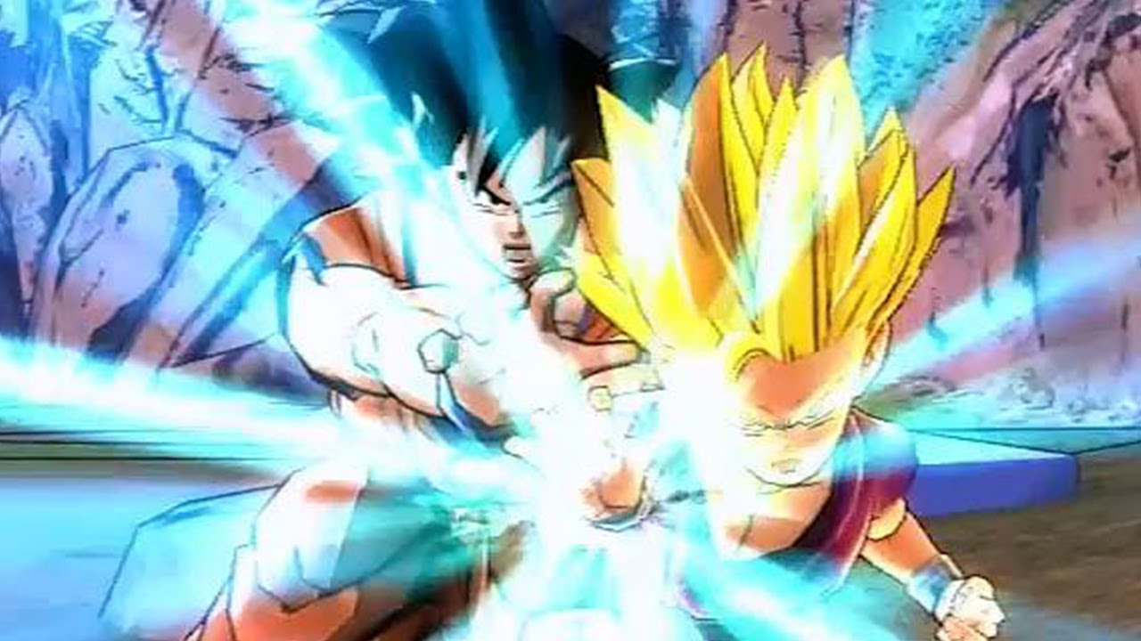 acafe9ab Dragon Ball Z: Battle of Z - Gohan Father-Son Kamehameha [Ultimate Attack]  - YouTube