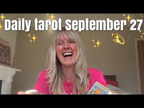Daily tarot reading for 27 September 2017...