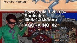 Tibia - Mage lvl 100-250+ - 400k-1.2kk/xp LUCRO - PROFIT - SOULEATER