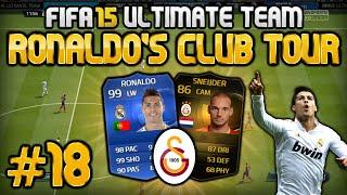 FIFA 15 - Ronaldo's Club Tour #18 - Galatasaray Istanbul - ES IST SOWEIT!.. Ronaldo's Club Tour nun auch in FIFA 16! ▻ Zum Video » http://youtu.be/Um2QRFe_EdY ✘ Preiswerte PSN Cards & Microsoft Points ...