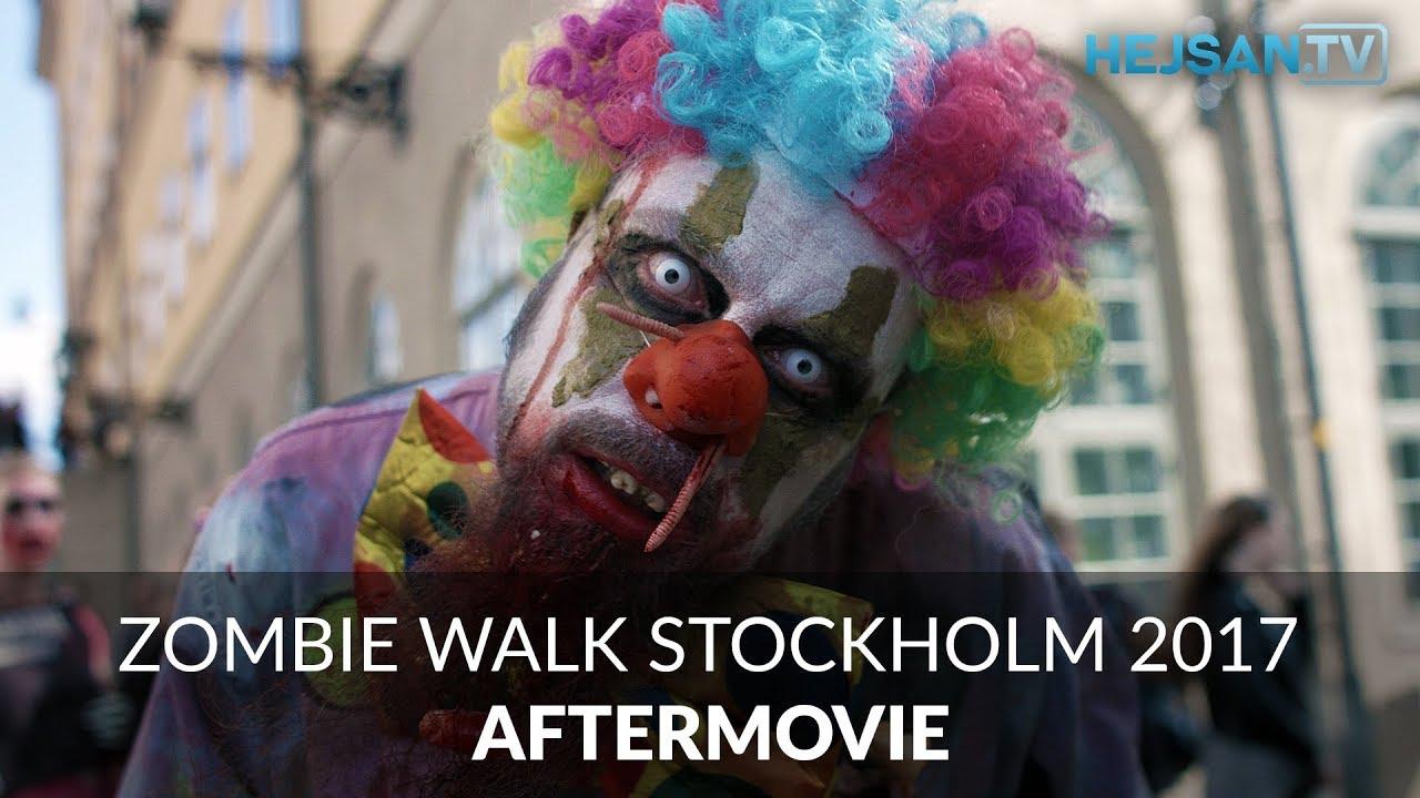 zombie parad stockholm