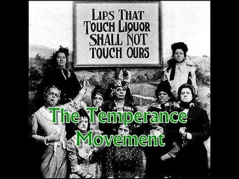 History Brief: The Temperance Movement