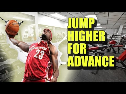 vertical jump training for advance - power exercise