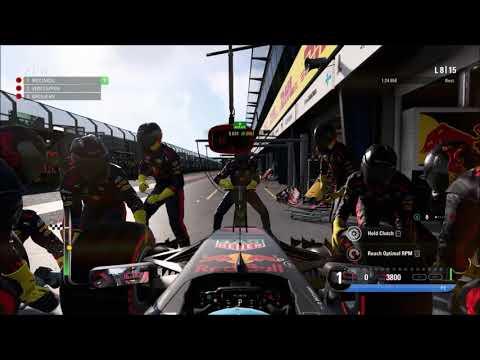 F1 2017 Event Mode - Australia World Record (21:42.039) [27/03/18]