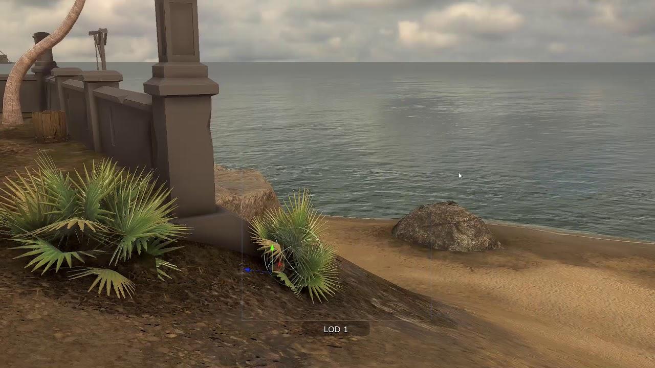 De León Legends VR - Painting Island Terrain