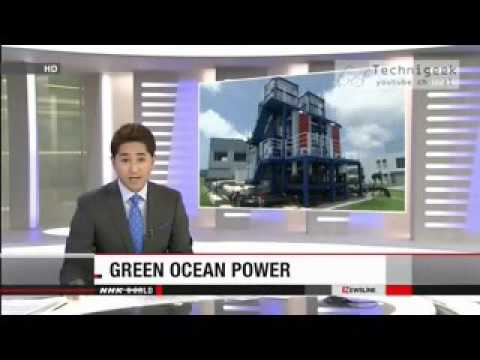 Ocean Energy - Thermal and Wave Power