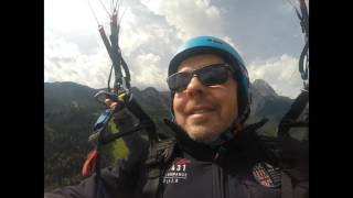 Paragliding Tandemflug Zugspitz Region