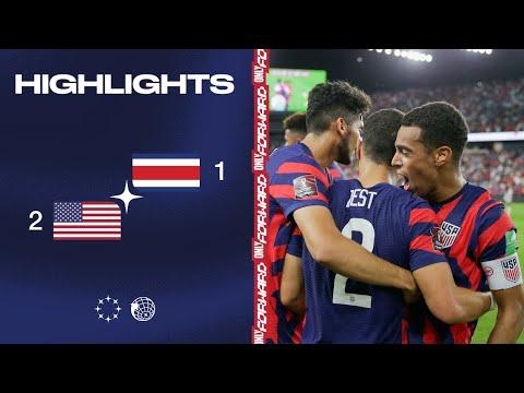 USA Costa Rica Goals And Highlights