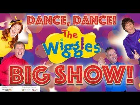 The wiggles Dance dance live edited (read description)