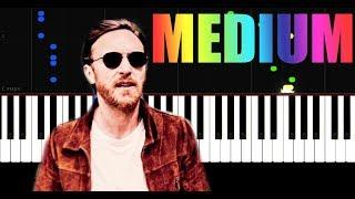 David Guetta, Bebe Rexha J Balvin Say My Name - Piano Tutorial by VN