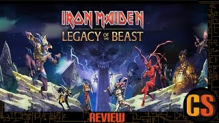 IRON MAIDEN LEGACY OF THE BEAST - REVIEW (Video Game Video Review)