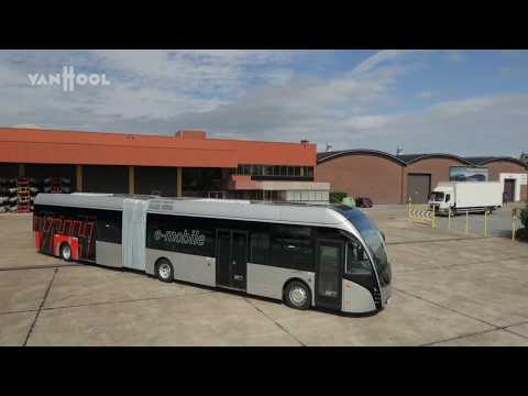 Van Hool - Exqui.City18 in Hamburg - 100% electric