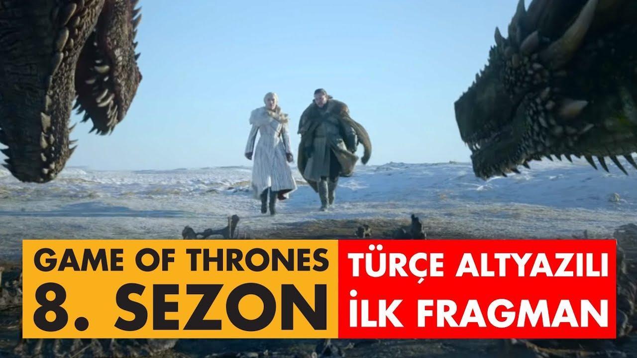 Game of Thrones - 8  Sezon İlk Fragman (Türkçe Altyazılı)
