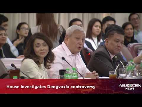 WATCH: House investigates Dengvaxia controversy(Part 2) | 26 February 2018