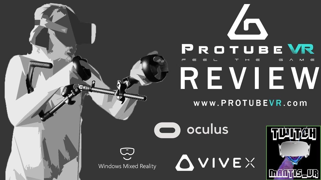 THE BEST VR ACCESSORY!?   Carbon Fibre 'Protube/Magtube' Review   ONWARD - PAVLOV - ARIZONA SUNSHINE