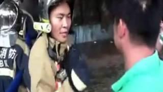 中国、反日デモで放火、消火活動を妨害[ミツミ電機 山東省青島]