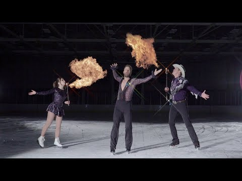 Hoss Michaels - WATCH: The Burning Man Tour On Ice with Dierks Bentley